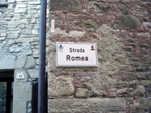 Francigena, La via Francigena da Pavia fino a Roma